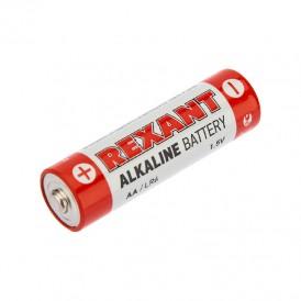 Алкалиновая батарейка AA/LR6 1,5 V 4 шт. блистер REXANT
