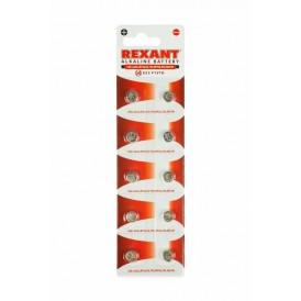 Батарейка LR41, AG3, LR736, G3, 192, GP92A, 392, SR41W REXANT