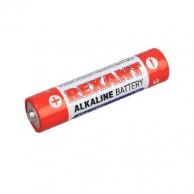Алкалиновая батарейка AAA/LR03 1,5 V 2 шт. блистер REXANT