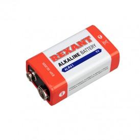 Алкалиновая батарейка 6LR61 («Крона») 9 V 1 шт. блистер REXANT