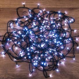 Гирлянда светодиодная универсальная 200 LED БЕЛЫЕ 20 метров, с контроллером