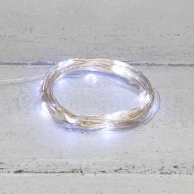 Гирлянда «Роса» 10 м, 100 LED, USB, белое свечение NEON-NIGHT