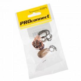 Выключатель для настенного светильника c  деревянным наконечником «Silver» индивидуальная упаковка  1 шт. PROCONNECT