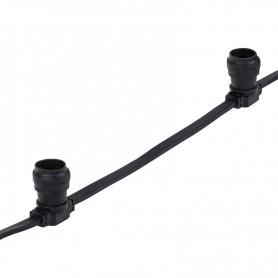 Belt-Light 2 жилы шаг 40 см патроны e27 влагостойкая IP54  Neon-night 331-212