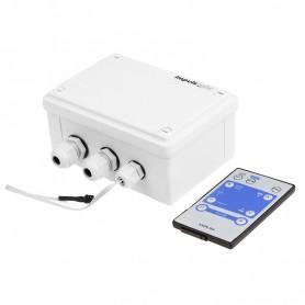 Контроллер для белт-лайта, светодиодные лампы 220 В, 1320Вт 4 кан. х 1,5 А, ДУ IP54