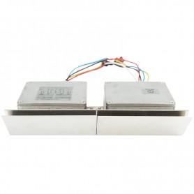 Контроллер для белт-лайта, светоиодные лампы 220 В, 7000Вт 4 кан. х 8,0 А, 20 прогр., ДУ, IP54