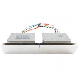 Контроллер для дюралайта, лед неона, ламп накаливания 220 В, 7000Вт 4 кан. х 8,0 А, 20 прогр., ДУ, IP54
