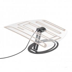 Антенна комнатная «Активная» с USB питанием, для цифрового телевидения DVB-T2, Ag-703 REXANT