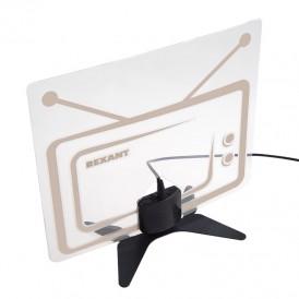 Антенна комнатная «Активная» с USB питанием, для цифрового телевидения DVB-T2, Ag-719 REXANT