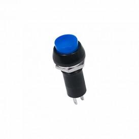Выключатель-кнопка  250V 1А (2с) ON-OFF  синяя  REXANT