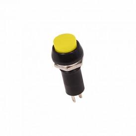 Выключатель-кнопка  250V 1А (2с) ON-OFF  желтая  REXANT
