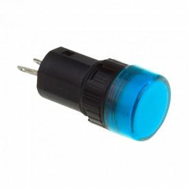 Индикатор Ø16  220V  синий LED  REXANT