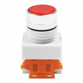 Выключатель-кнопка 10А ON-ON Фикс Ø22 красная Стоп  REXANT