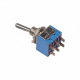 Тумблер 250V 3А (6c) ON-ON двухполюсный  Micro  REXANT