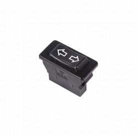 Выключатель (стеклоподъемника) клавишный 12V 20А (5с) (ON)-OFF-(ON)  черный  REXANT