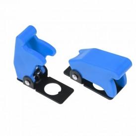 Защитная крышка для тумблеров типа KN и ASW  синяя  REXANT