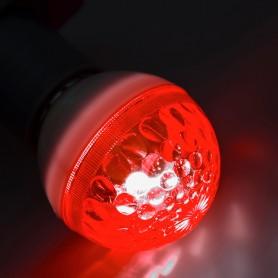 Лампа строб e27 Ø50мм  красная