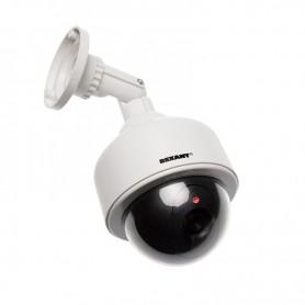 Муляж камеры REXANT уличный, купольный, белый