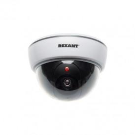 Муляж камеры REXANT внутренний, купольный, белый