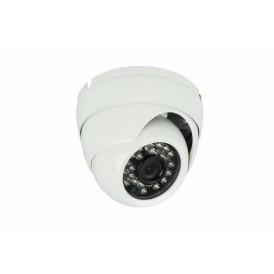 Купольная уличная камера IP 1.0Мп (720P), объектив 3.6 мм., ИК до 20 м.