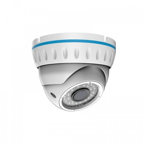 Kупольная уличная камера IP 2.1Мп Full HD (1080P), объектив 2.8-12 мм., ИК до 30 м., PoE