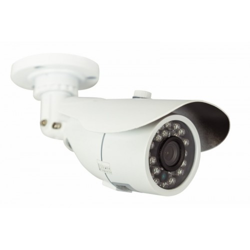 Цилиндрическая уличная камера IP 1.0Мп (720P), объектив 3.6 мм., ИК до 20 м.