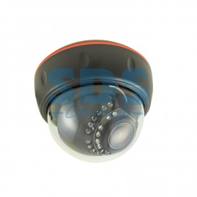 Купольная камера IP 2.1Мп Full HD (1080P), объектив 2.8-12 мм., ИК до 30 м., PoE + Звук