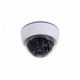 Купольная камера IP 2.1Мп Full HD (1080P), объектив 2.8-12 мм., ИК до 30 м., PoE + Звук (белая)