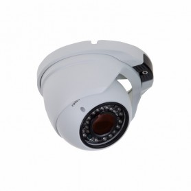 Купольная уличная камера AHD 4.0Мп, объектив 2.8-12 мм., ИК до 30 м.