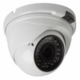 Купольная вандалозащищенная IP видеокамера 4Мп день/ночь, ИК, 2.8-12 мм, PoE