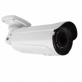 Цилиндрическая уличная камера IP 4Мп, объектив 2.8-12 мм., ИК 50 м., PoE