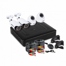 Комплект видеонаблюдения PROconnect, 2 внутренние, 2 наружные камеры AHD-M, без HDD