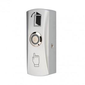 Кнопка «Выход» металлическая с синей подсветкой SB-40