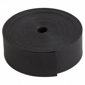 Термоусаживаемая лента с клеевым слоем REXANT 25 мм х 0,8 мм, черная, ролик 5 м, ТЛ-0,8