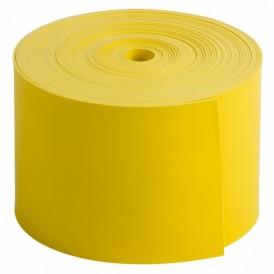 Термоусаживаемая лента с клеевым слоем REXANT 50 мм х 0,8 мм, желтая, ролик 5 м, ТЛ-0,8