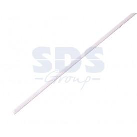Термоусаживаемая трубка REXANT 10,0/5,0 мм, белая (бухта 100 м)