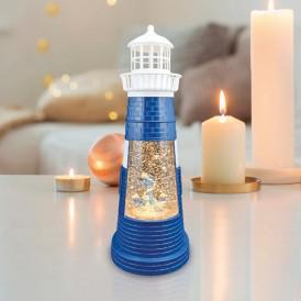 Декоративный светильник «Маяк синий» с конфетти и подсветкой, USB NEON-NIGHT
