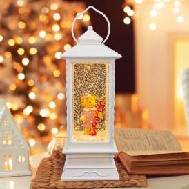 Декоративный светильник «Влюбленная медведица» с конфетти, USB NEON-NIGHT