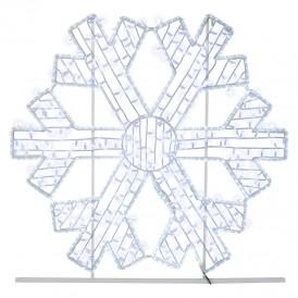 Фигура световая «Снежинка» 125х120 см, 200 LED, IP65, цвет свечения белый NEON-NIGHT
