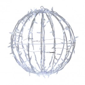 Шар светодиодный 230V, диаметр 50 см, 200 светодиодов, эффект мерцания, цвет белый    NEON-NIGHT