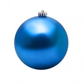 Елочная фигура «Шар» 15 см, цвет синий глянцевый