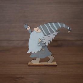 Деревянная фигурка «Гномик» 17х4х15 см