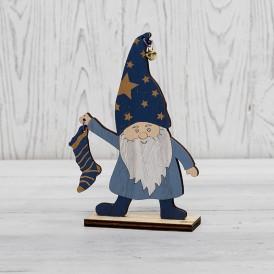 Деревянная фигурка «Гном с носком» 15х4х17 см NEON-NIGHT
