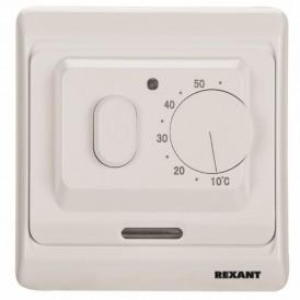 Терморегулятор механический с датчиком температуры пола и воздуха (3680 Вт) REXANT