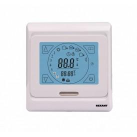 Терморегулятор сенсорный с автоматическим программированием REXANT, R91XT, 3680 Вт