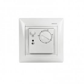 Терморегулятор механический RX-308B белый  REXANT (совместим с Legrand серии Valena)