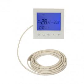 Терморегулятор с автоматическим программированием и сенсорными кнопками R100W (белый) REXANT