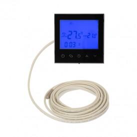 Терморегулятор с автоматическим программированием и сенсорными кнопками R100B (черный) REXANT