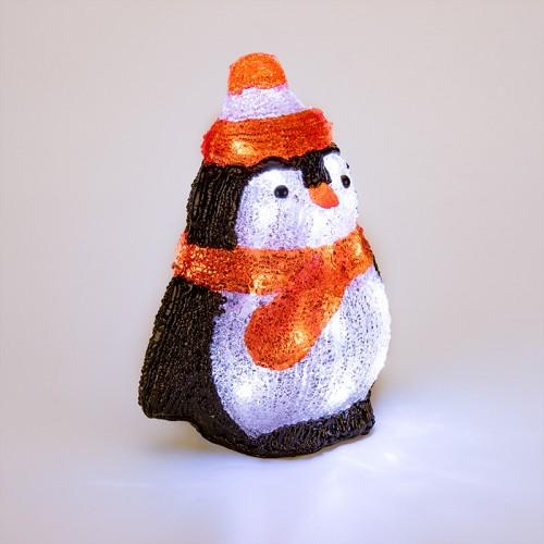 Акриловая светодиодная фигура «Пингвиненок» 19х14,5х25 см, 20 светодиодов, батарейки 2хAA (не входят в комплект) NEON-NIGHT