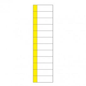 Наклейка маркировочная таблица 12 модулей (50х216 мм) REXANT